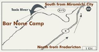 Bar None Camp Map